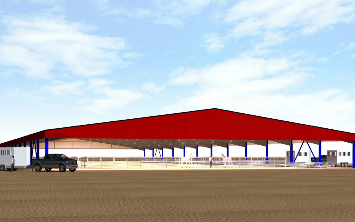 R159 Horse Arena Rendering 11a