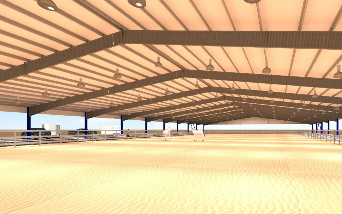 R159 Horse Arena Rendering 22a