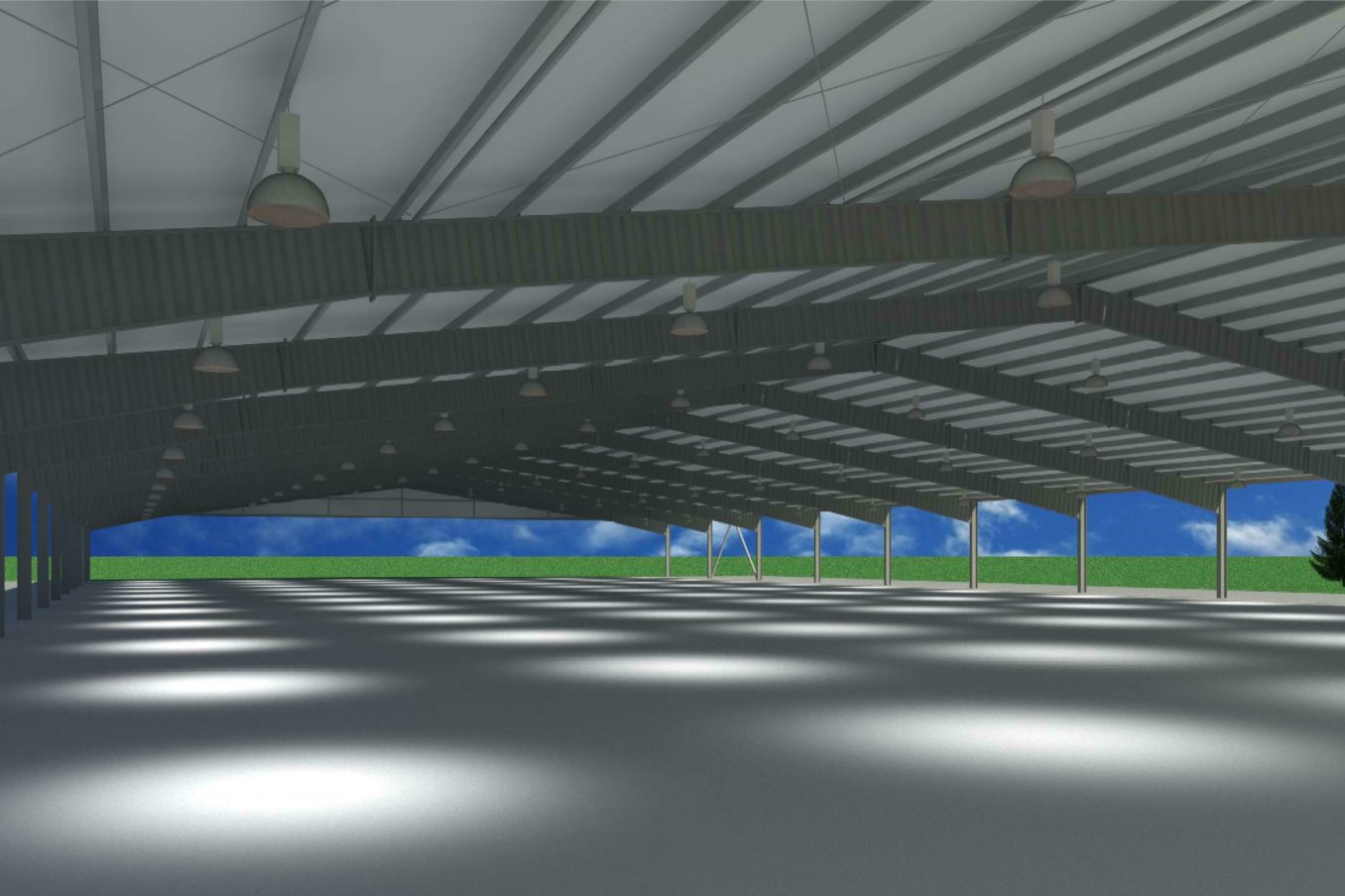 R159 Horse Arena Rendering INT1